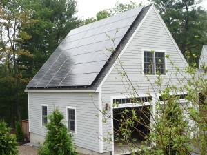 Photovoltaic installation in Andover, MA