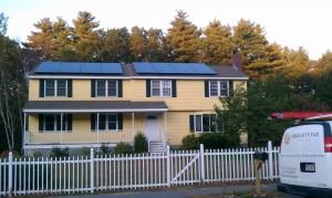 Solar Installation in Billerica, MA