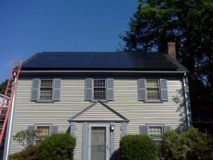 Solar Installation in Brookline, MA
