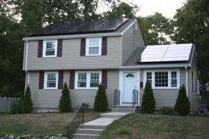 Solar Installation in Waltham MA