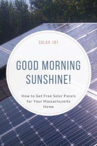 Free Solar Panels Massachusetts
